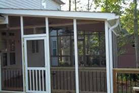 screen porch kits install on awnings to make a porch collegeisnext