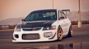 mitsubishi evo custom black and white mitsubishi lancer evolution wallpaper car