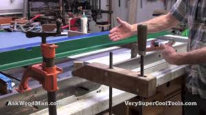diy biesemeyer table saw fence 1 of 5 table saw guide rail install diy biesemeyer style guide