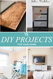 easy diy projects for home 15 quick and easy diy projects to refresh your home our crafty mom