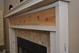 build fireplace mantel surround u2014 office and bedroom