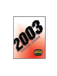 atra 2003 seminar manual electrical connector distributor