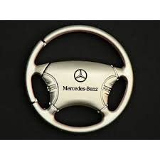 mercedes key rings for sale mercedes key ring steering wheel brushed silver cha