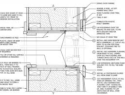 Window Sill Detail Cad Double Stud Wall Window Head And Sill With Furring