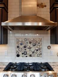tile accents for kitchen backsplash subway backsplash with accents houzz