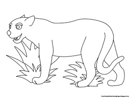 car zoo cat dog apple jaguar outline free printable kids coloring
