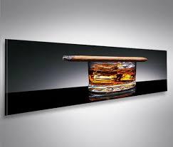bilder xxl bild bilder auf leinwand zigarre und whisky real