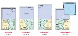 floorplans for the harbor assisted living at bridgeway pointe