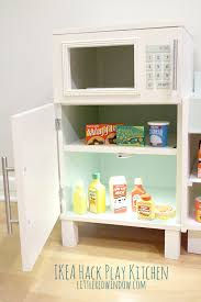 ikea hack play kitchen fridge and microwave stove oven ikea