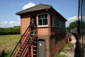 signal shed south devon railway u2013 staverton station signal box loco yard