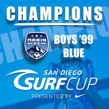 boys 99 blue chions at surf cup showcase marin fc alliance