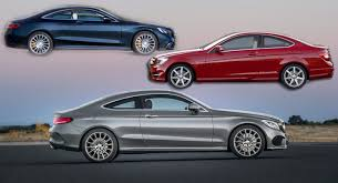 mercedes c class vs s class mercedes c class coupe photo compared against model and s
