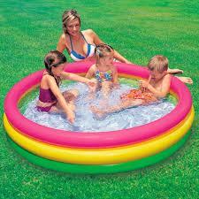Intex Inflatable Pool Intex Sunset Glow Baby Pool 2ft