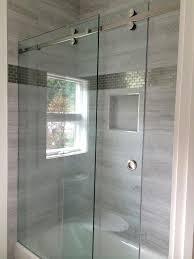 How To Install Sliding Shower Doors Frameless Sliding Shower Doors Installation Repair Or Replacement