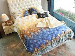 peacock feather comforter promotion shop for promotional peacock