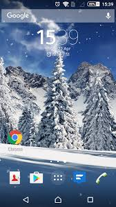 winter snowfall day real 3d free android apps on