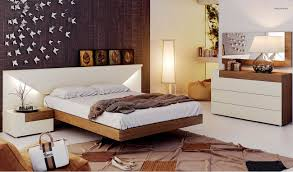 fashionable wood designer bedroom with extra storage austin texas