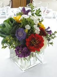 Cube Vase Centerpieces by Organic Elements The Latest Buds From Plum Sage Flowers Page 11