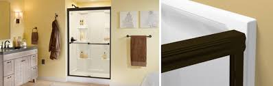Sliding Shower Screen Doors How To Install A Traditional Style Sliding Glass Shower Door
