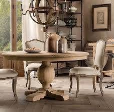 charming restoration hardware round dining table 52 about remodel