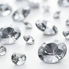 gems for table decorations clear diamante table gems 100g mixed size value pack glamour 2