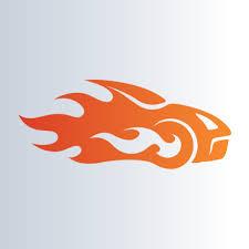 car race logo template buy vector logo for 10