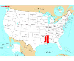 State Of Indiana Map by Maps Of Mississippi State Collection Of Detailed Maps Of