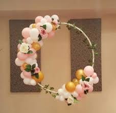 artificial christmas wreaths balloon wreaths that you can create easily inhabit zone