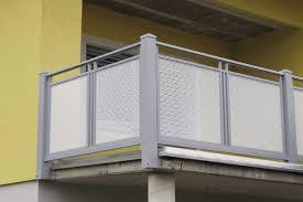 balkone alu alu lochblech balkongeländer wellington