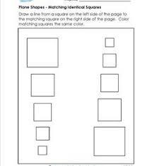 square worksheets kindergarten shapes worksheets a wellspring