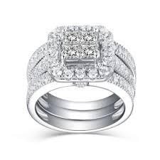 cheap bridal sets bridal sets cheap bridal ring sets wedding ring sets lajerrio