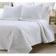 Quilted Cotton Coverlet Quilted Coverlet
