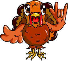 sign language thanksgiving turkey i you asl stickers by