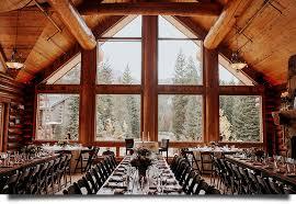 breckenridge wedding venues banquet facility at the breckenridge nordic center for weddings