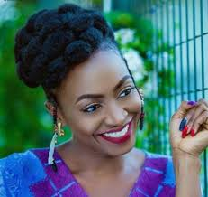 naigerian actresses hairstyles actress kate henshaw show off her stylish natural hair with