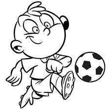 activité enfant le football en ligne gratuit à imprimer