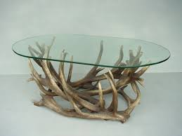 Glass Oval Coffee Table Pop Decoration Themes Longhorn Antlers Coffee Table