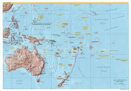 French Polynesia Map Lesson Plan U2013 Geography Of Oceania