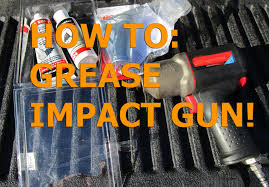 how to greasing impact gun ingersoll rand 2135ti more youtube