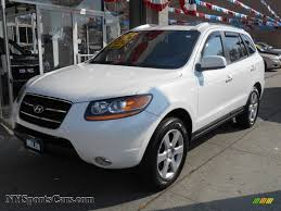 hyundai santa fe limited 2009 2009 hyundai santa fe limited 4wd in powder white pearl 270513