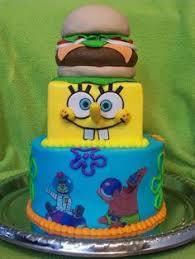 sponge bob cakes spongebob tower spongebob tower and cake