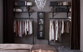 How To Organize Clothes Without A Closet Ideas Ikea