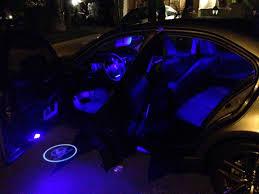 Car Interior Blue Lights Showy Larger Version Added Led Light Strips Inside Ac Ford