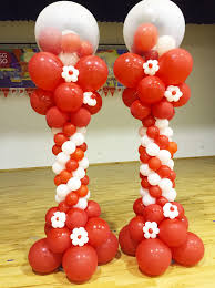 balloon columns balloon columns decorations singapore jy entertainments kids