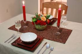 Dinner Table Decoration Candle Light Dinner At Home Decoration Pics Photos Candle Light