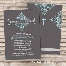 first communion invitations boy reduxsquad com