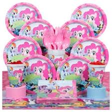 My Little Pony Party Decorations My Little Pony Deluxe Kit Serves 8 Partyland New Zealand U0027s