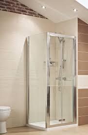 bi fold shower door hinges lumin8 bi fold shower door 8mm 1000mm