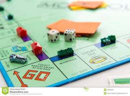 Monopoly Map Monopoly Board Game In Play Editorial Photo Image 46853666