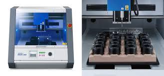 3d milling machine roland dg announces launch of mdx 50 3d milling machine